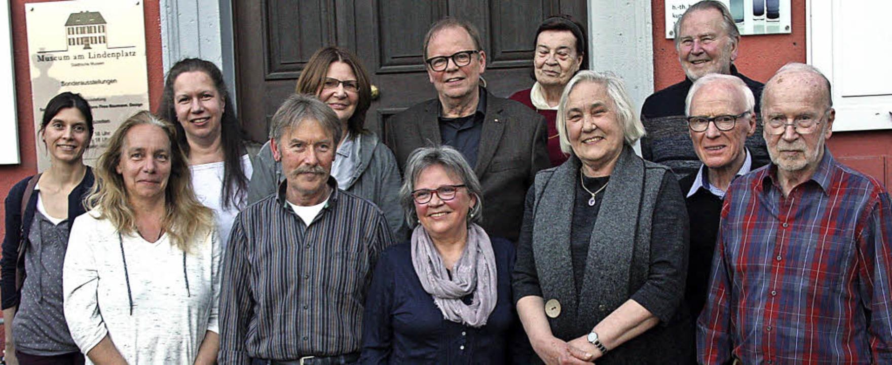 Im Museumskreis aktiv: (hinten von lin...ulte, Manfred Harr und   Walter Pache   | Foto: Yvonne Siemann