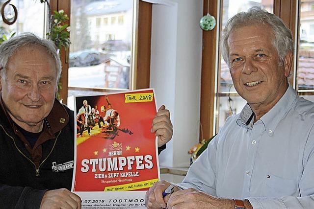 Schwäbische Kultband kommt nach Todtmoos