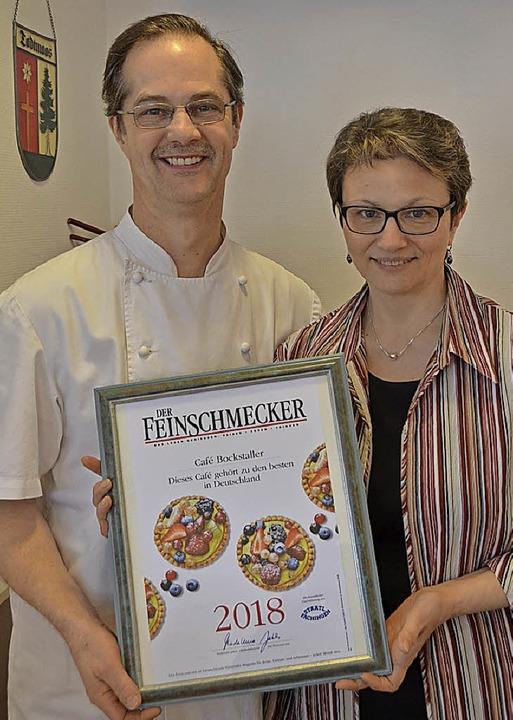 Gabriele und Franz Bockstaller sind st...Café zu den besten Deutschlands zählt.    Foto: Sahli