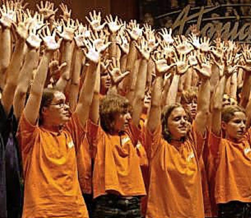 Immer wieder ein Erfolg, die Adonia-Musicals.     Foto: privat