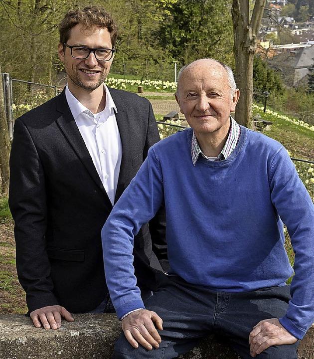 Andreas B. Schmidt (links) und  Werner Semmler  | Foto: Thomas Kunz