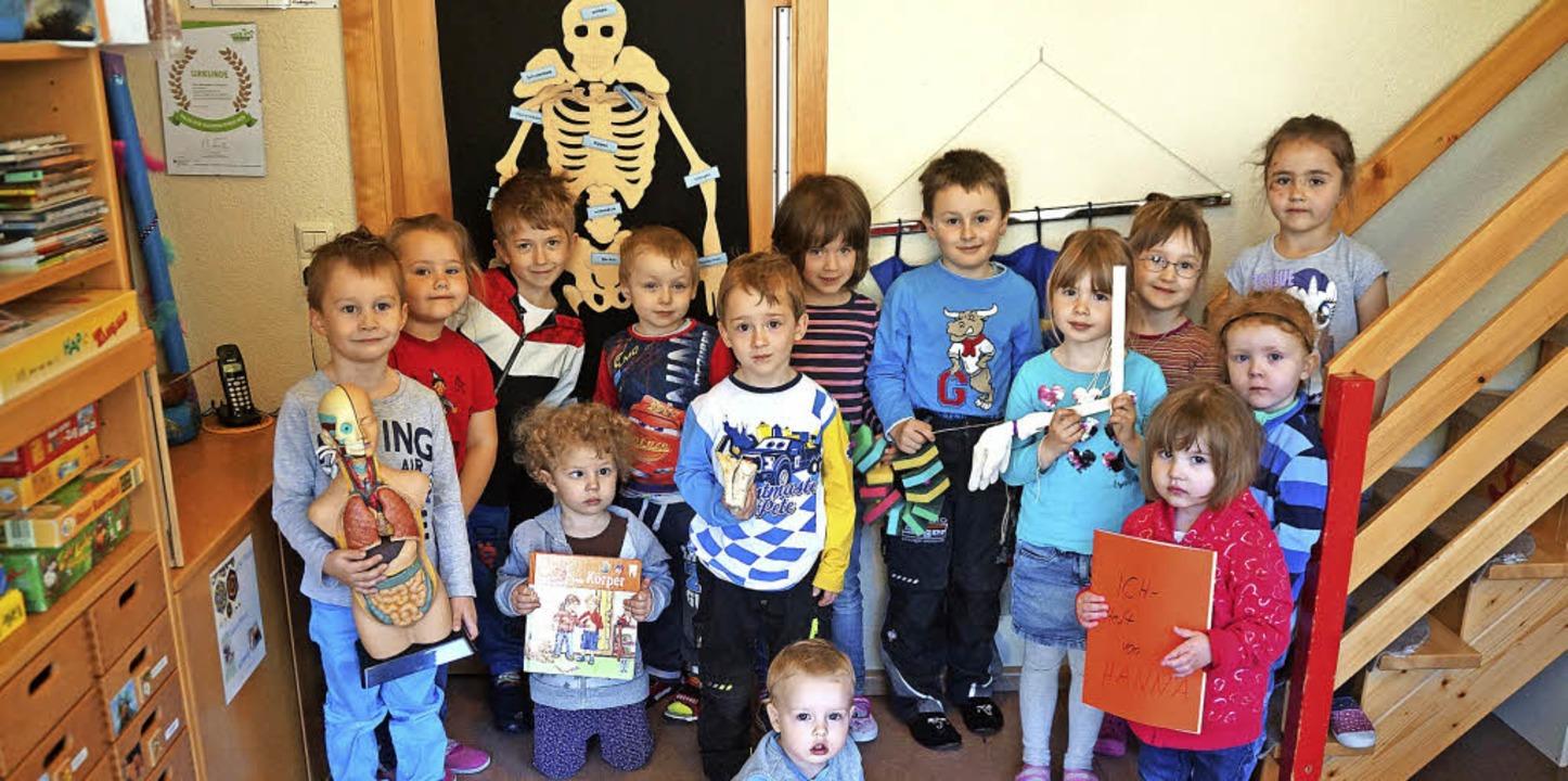 Kleine Forscher und Entdecker im Präger Kindergarten St Franziskus.    Foto: Verena Wehrle