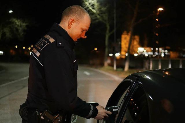 Eine Nacht auf Streife mit der Lörracher Polizei