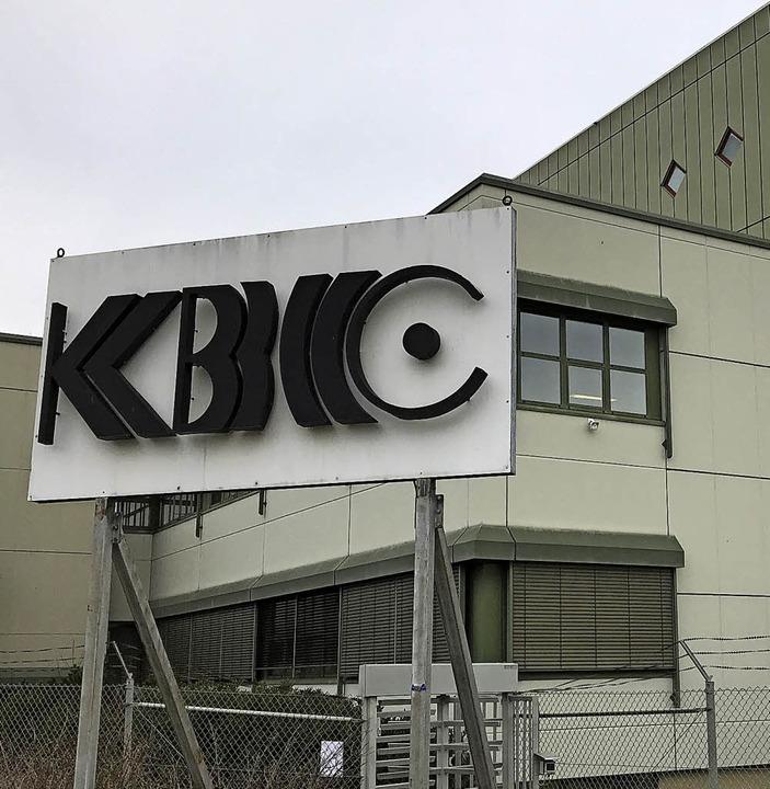 Die KBC war einst die größte Stoffdruc... noch 120 Arbeitsplätze übrig sein.     | Foto: Dorothee Soboll