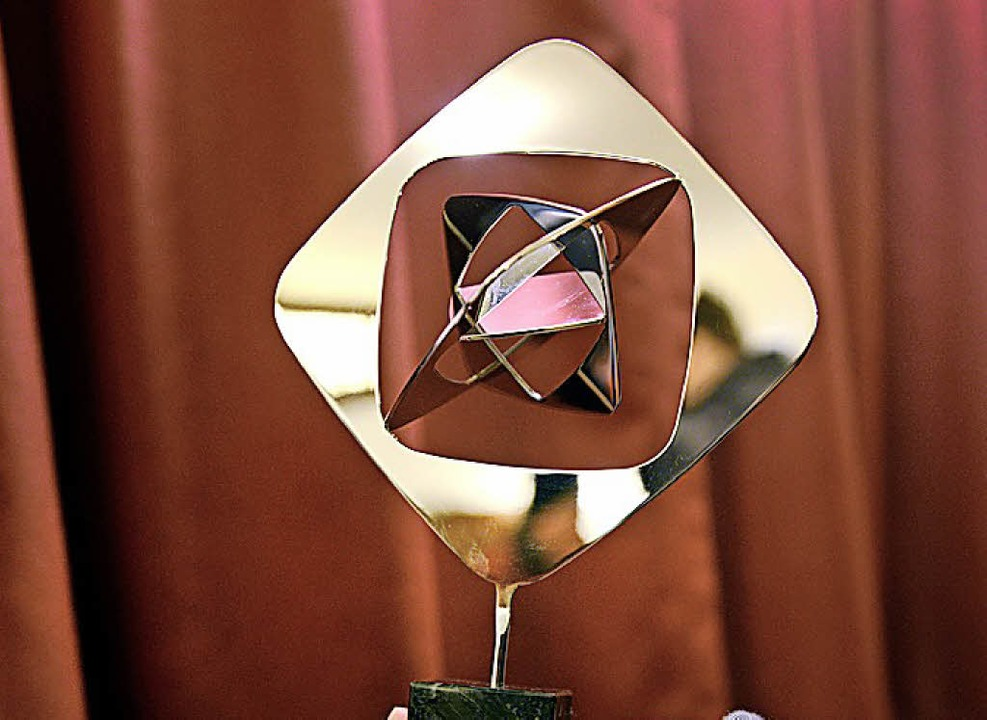 Begehrte Trophäe: der Grimme-Preis     Foto: dpa