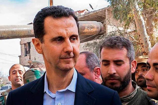 USA sehen Giftgasangriff durch syrische Armee als erwiesen an