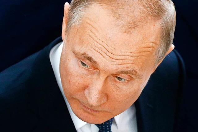 Putin appelliert nach Syrienangriff an UN – Gegenmaßnahmen möglich