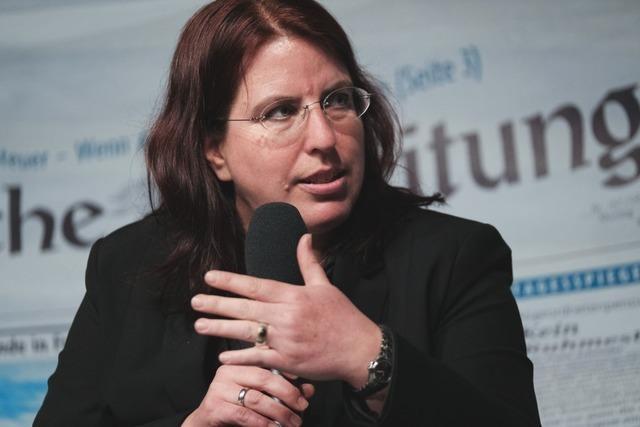 Monika Stein im BZ-Kandidatentalk: