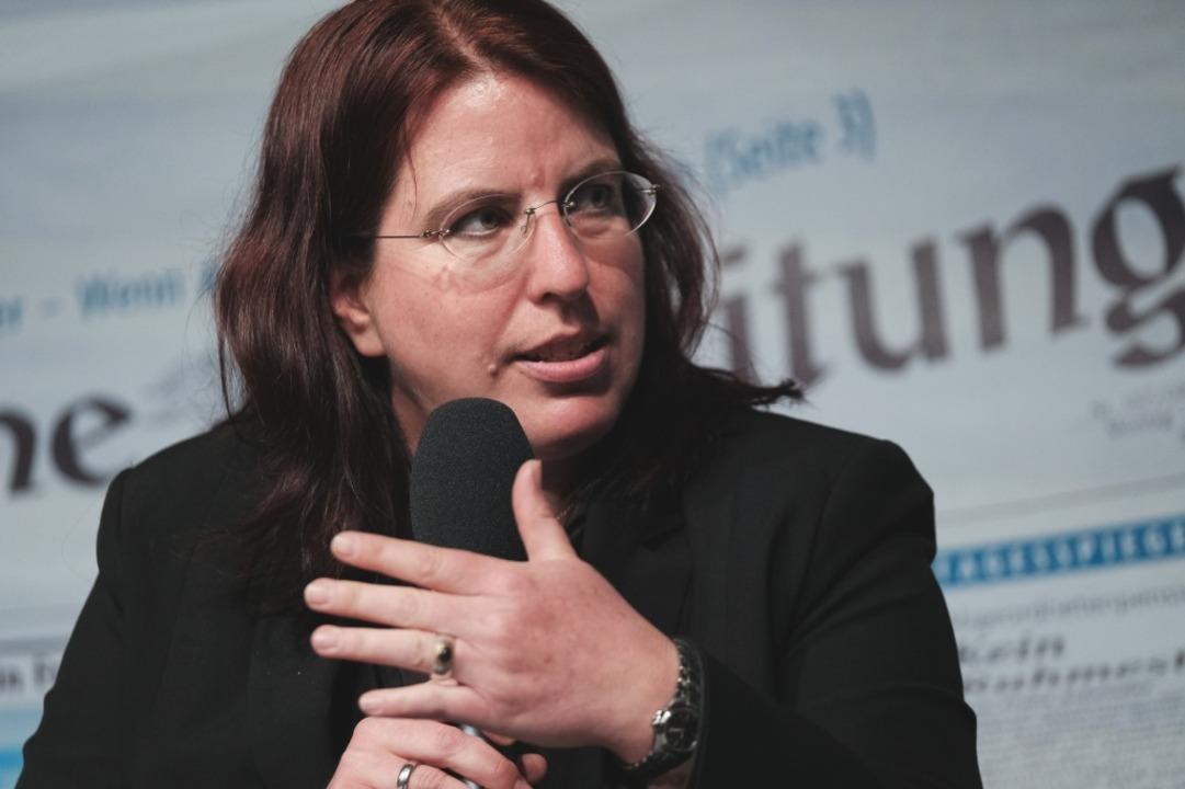Monika Stein will erste Oberbürgermeis...e sie erstmals zur Stadträtin gewählt.  | Foto: Miroslav Dakov