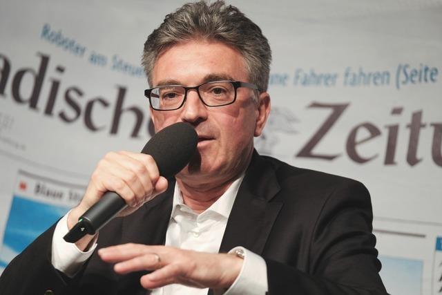 Dieter Salomon im BZ-Kandidatentalk: