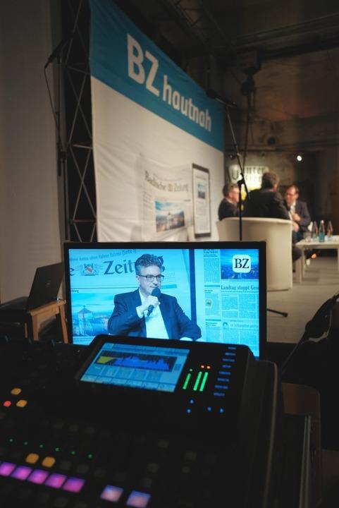 Alle Talks am Samstag werden live ins Netz übertragen.  | Foto: Miroslav Dakov