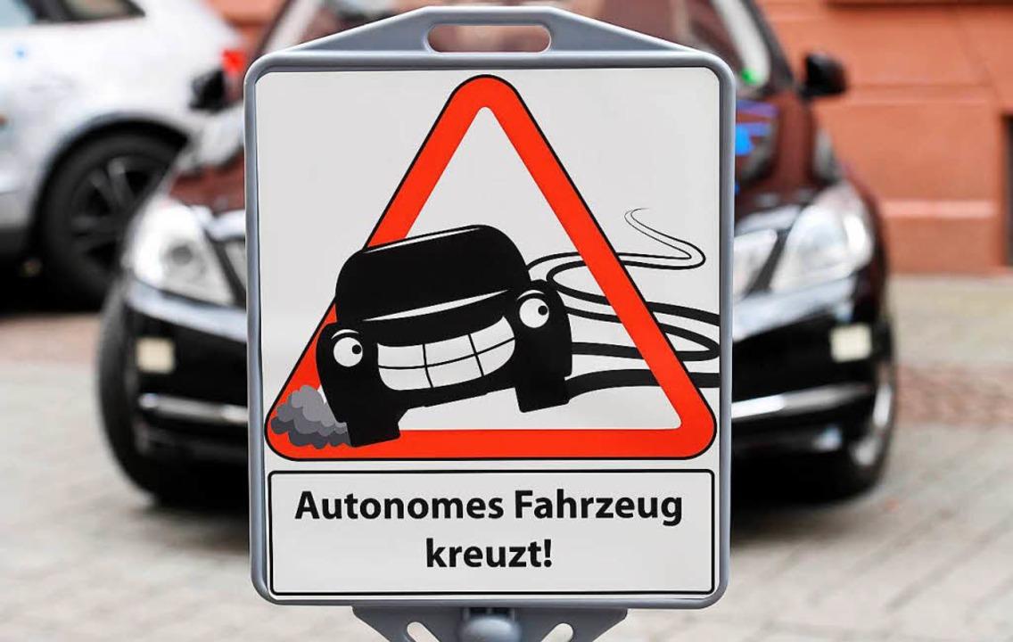 Die Zukunft gehört dem autonomen Fahre...211; davon ist Andreas Knie überzeugt.    Foto: Uli Deck