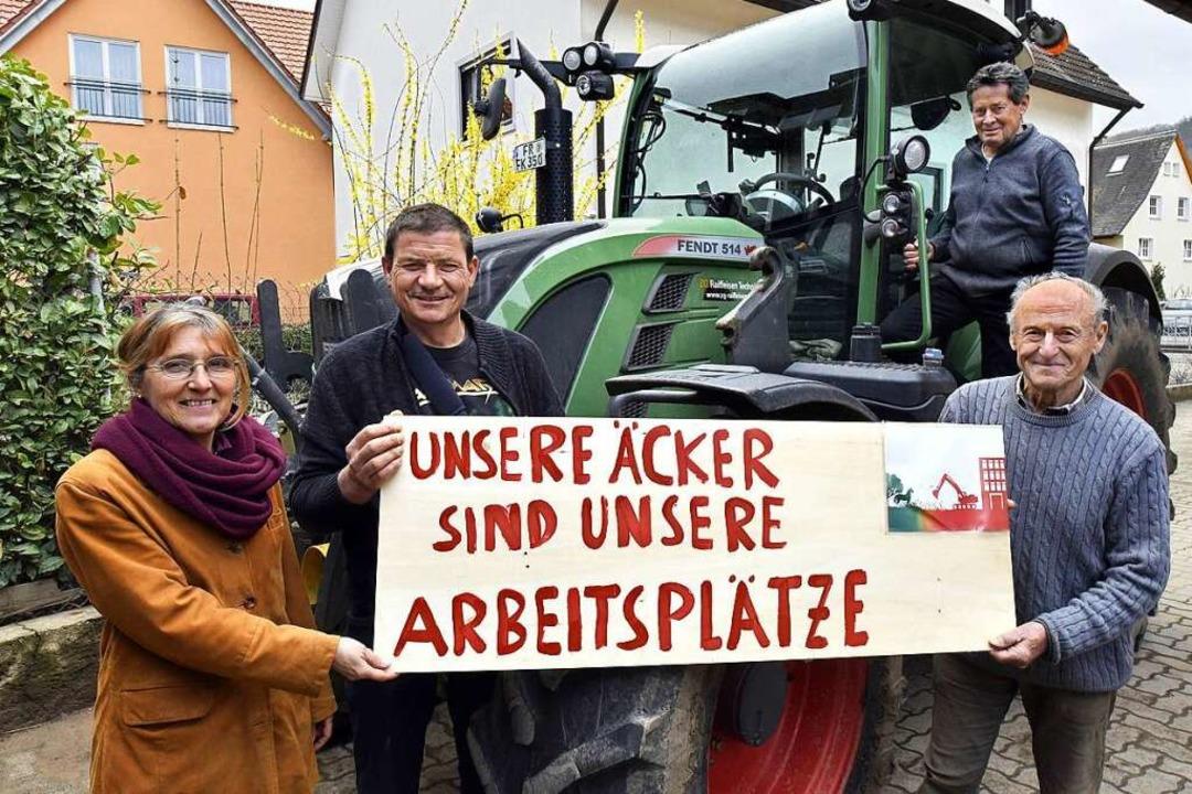 Monika Falkner, Manfred Vögele, Stefan...alten – nicht nur in Dietenbach.  | Foto: Thomas Kunz