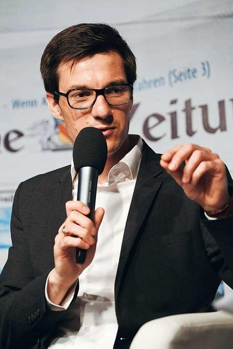 Horn beschrieb seine Arbeit als Europa...twicklungskoordinator in Sindelfingen.  | Foto: Miroslav Dakov