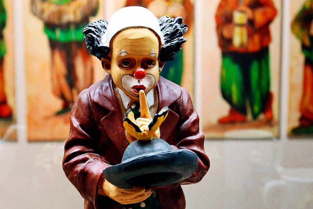 Wo die Sammlerliebe hinfällt: der eine...Comicfiguren, der andere  auf Clowns.   | Foto: dpa