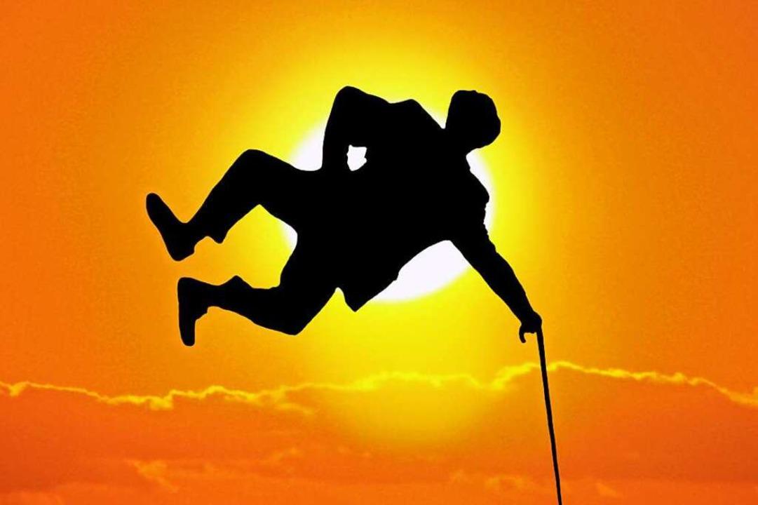 Ohne Abschläge in Rente – da kann man schon mal einen Luftsprung machen.  | Foto: STOCK.Adobe.com
