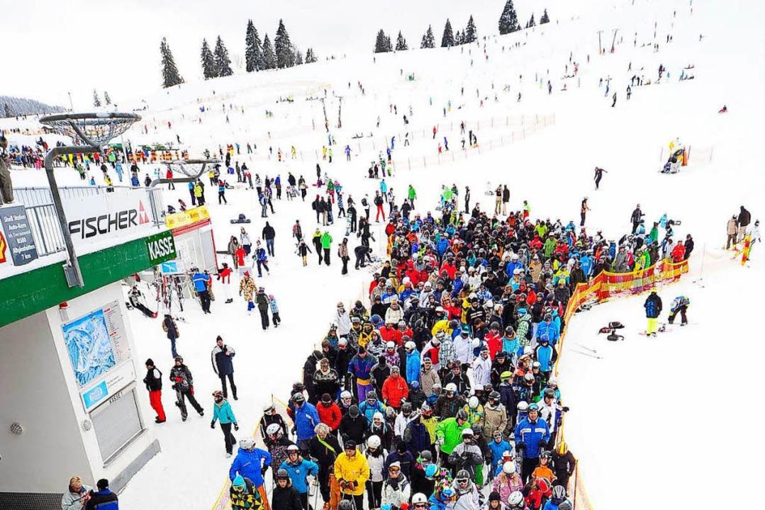 Das Skigebiet Feldberg ist ein Pfund in der Touristik.      Foto: Thomas Kunz