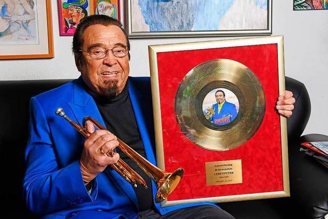 Trompeter Walter Scholz feiert seinen 80. Geburtstag