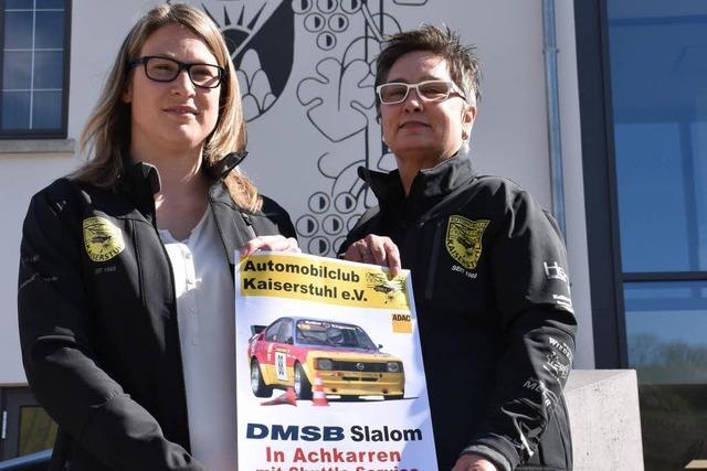 Automobil-Club Kaiserstuhl veranstaltet Autoslalom mit rund 100 Teilnehmern
