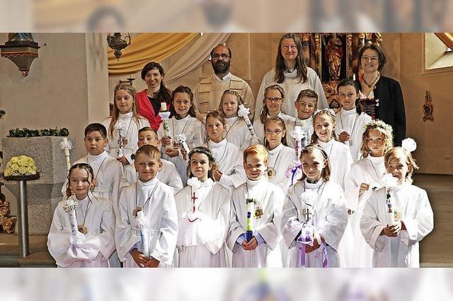 Erstkommunion in St. Fides