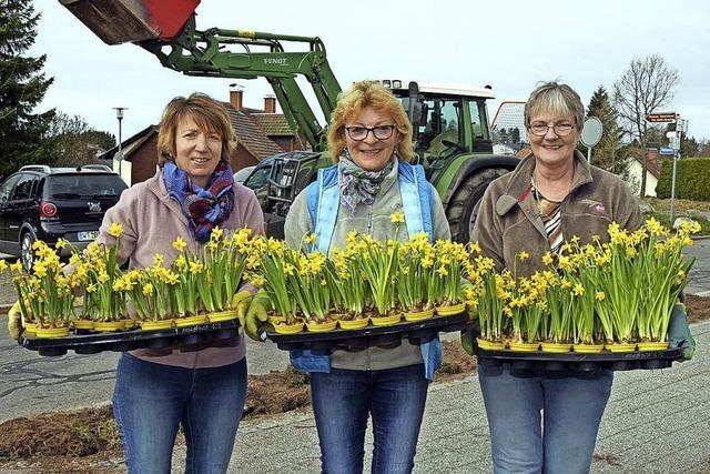 Die Landfrauen bringen den Frühling