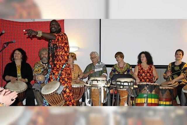 Trommeln für afrikanisches Hilfsprojekt hat sich gelohnt