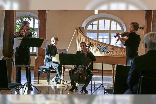 Ensemble 4 D im Bürgersaal