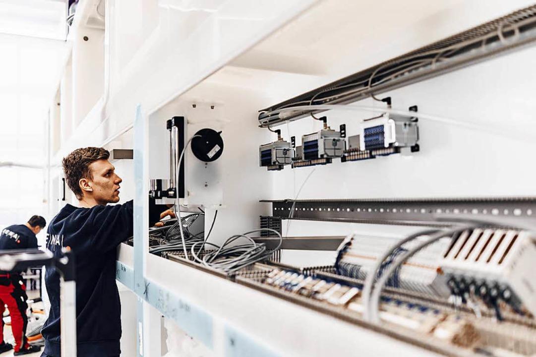 Fertigung bei Rena Technologies in Gütenbach.     Foto: Rena Technologies