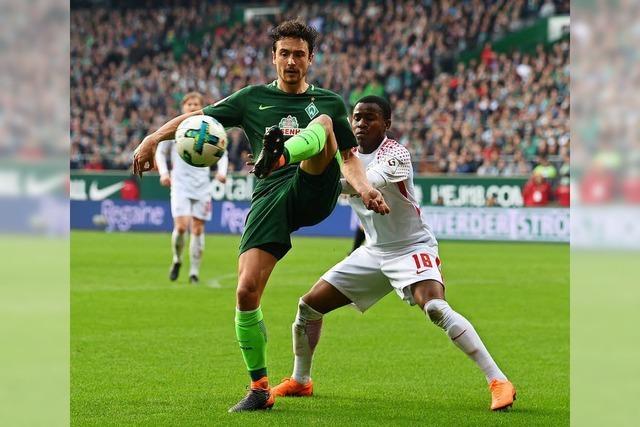 Unentschieden: Joker Lookman rettet Leipzig in Bremen