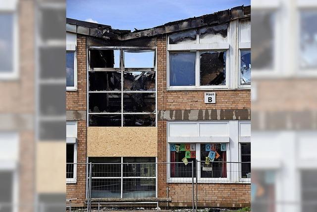 Schule brennt – war es Brandstiftung?