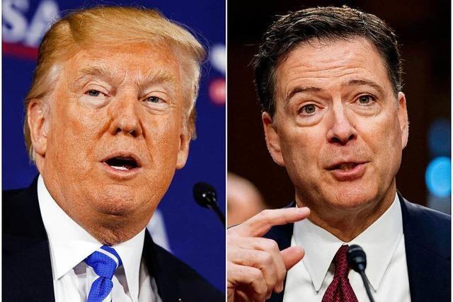 Ex-FBI-Chef Comey: Trump moralisch unfähig für Präsidentenamt