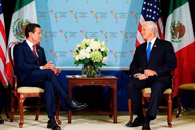 Amerika-Gipfel sagt Korruption den Kampf an