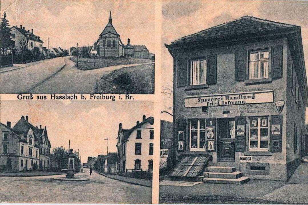 Drei historische Fotos aus dem alten H...edrich Hofmann, Carl-Kistner-Straße 5.  | Foto: Archiv Hans-Jürgen Oehler