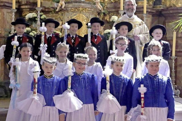 Großer Tag für kleine Katholiken