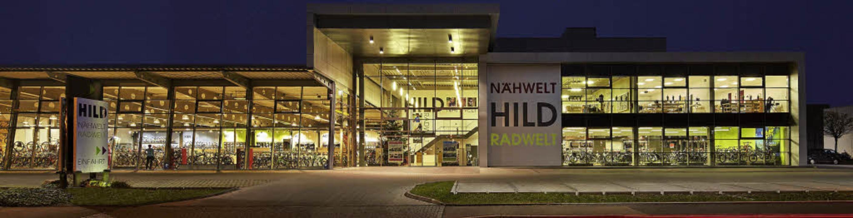 Im Jahr 2000 hat Hild das neue Gebäude...der Anbau auf der rechten Seite dazu.     Foto: Hild