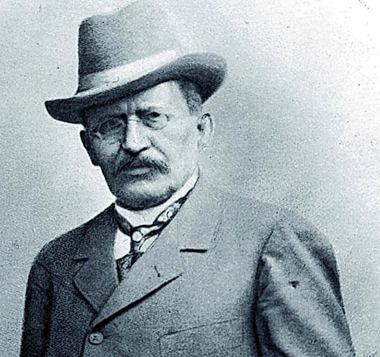 Ernst Hild hat das Unternehmen 1878 gegründet.    Foto: Privat