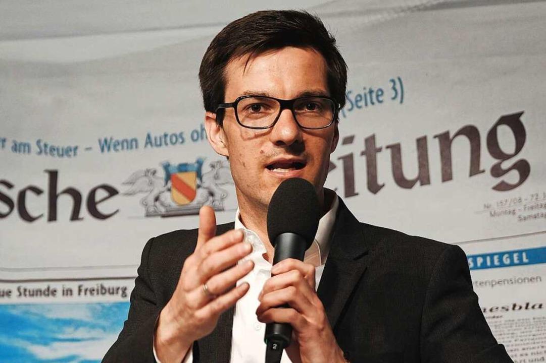 Martin Horn (SPD, Kulturliste, Freiburg Lebenswert)  | Foto: Miroslav Dakov