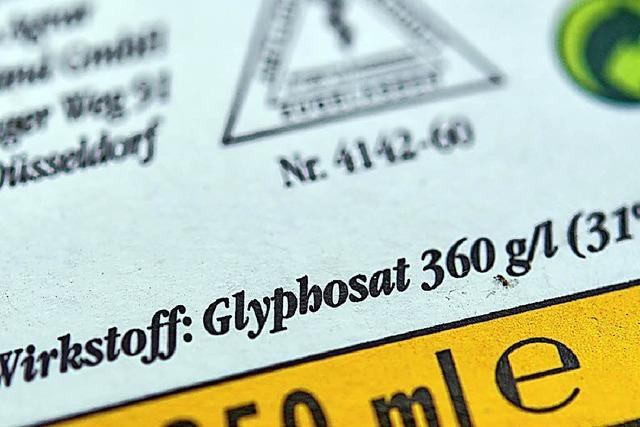 Wie weiter mit Glyphosat?