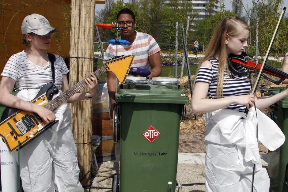 Vom ersten Tag an wurde auf der Landesgartenschau ein vielfältiges Programm geboten. (Foto: Heidi Foessel)