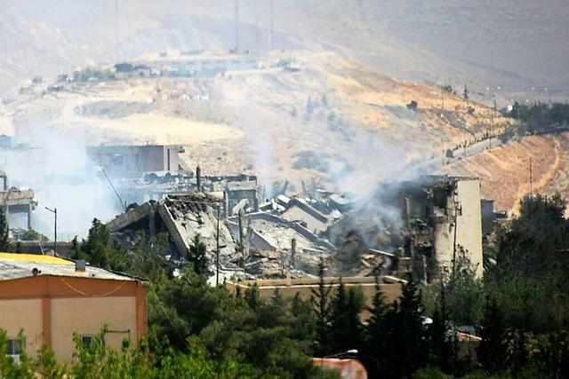 Was ist am Wochenende in Syrien passiert?