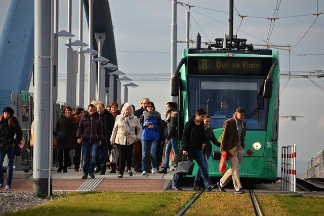 20 Millionen Euro für Verlängerung der Tramlinie 8 in Weil am Rhein