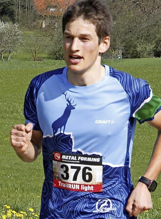 Björn Pollul gewann in Zell am Harmers...das Bergrennen der Altersklasse U 20.   | Foto: stinn