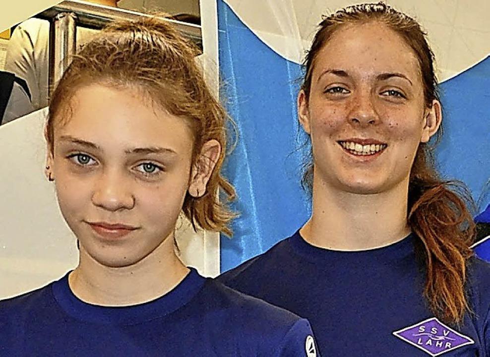 Kathrin Ermantraut und  Jaqueline Kolling (rechts).   | Foto: Verein
