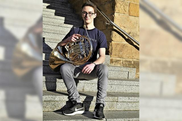 Mit Horn statt Trompete zum Erfolg