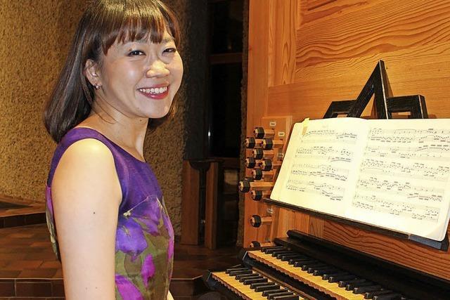 Mari Ohki bietet eine virtuose Eröffnung der Orgelwoche