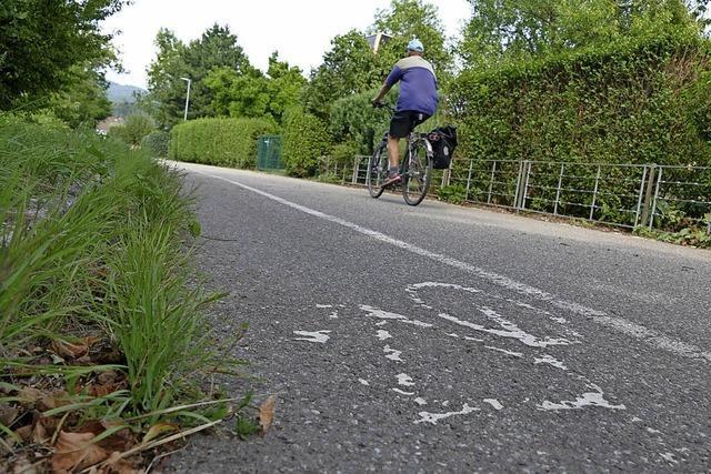 Wallbach bekommt jetzt auch eine Fahrradstraße