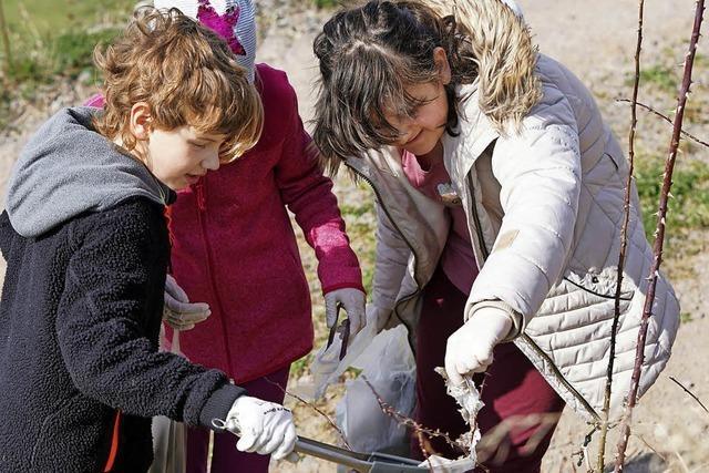 Dorfputzete wird zum Dorffest