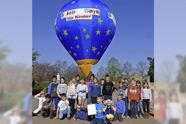 Denzlinger Schüler entwirft Design für Ballon