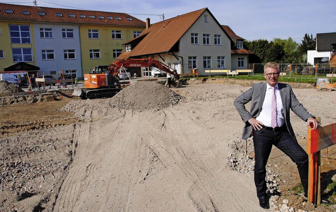 Es kann losgehen: Mt dem Beginn der Ba... Großprojekt der Gemeinde Gottenheim.   | Foto: Manfred Frietsch