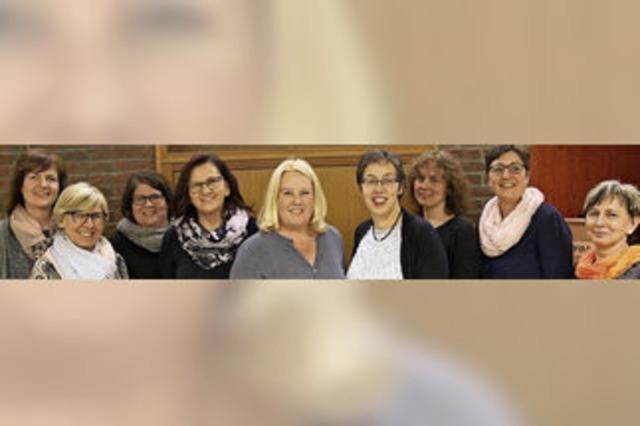 Landfrauen wählen neues Vorstandsteam